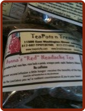 Donna's RED Headache Tea (caffeine free)