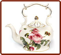 Romantic Rose TeaPot